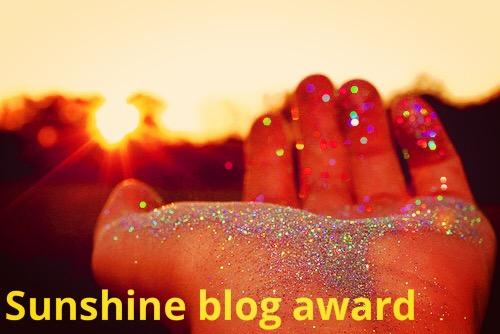 Sunshine Blog Award!!! Premio Sunshine Blog