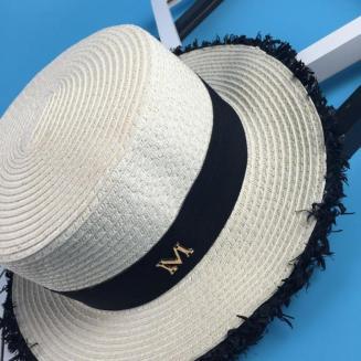 maison-michel-men-women-summer-white-straw-hats-short-flat-brim-m-letter-jazz-hat-beach-sun-trilby-bowler-hats-chapeu-feminino